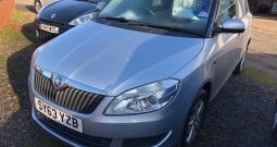 2014 Skoda Fabia 1.2 Petrol 5 Door Hatch in Silver.