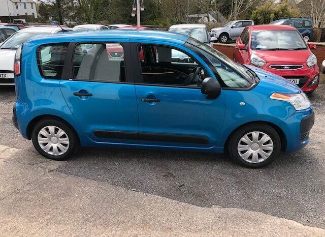 2009 CITROEN C3 PICASSO VT, PETROL, 5 DOOR MPV, IN BLUE.