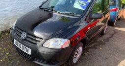 2010 VW FOX 3 DOOR PETROL IN BLACK